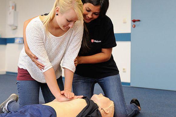 Erste Hilfe Ausbildung beim Roten Kreuz